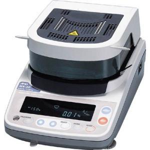 A&D 加熱乾燥式水分計・最小質量表示0.001g MX-50|maeki