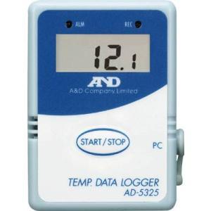 A&D 温度データーロガー8000メモリースタート・セット AD-5325SET|maeki