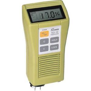 サンコウ 電気式水分計直流電気抵抗式超小型プローブ一体タイプ木材水分計 AQ-10|maeki