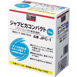 TRUSCO 作業着用粉末洗剤1Kg JPC-1|maeki