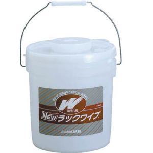 旭化成 NEWラックワイプ 油汚れ用バケツタイプ HD-9001B|maeki