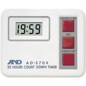 A&D デジタルタイマー20時間形タイマー AD-5704|maeki
