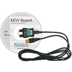 KYORITSU USBアダプタ+KEWReport MODEL8212-USB|maeki