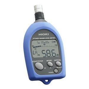 HIOKI 普通騒音計(取引証明検定付き) FT3432|maeki