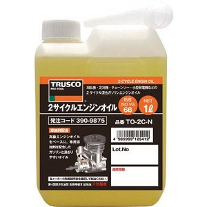 TRUSCO 2サイクルエンジンオイル1L TO-2C-N|maeki