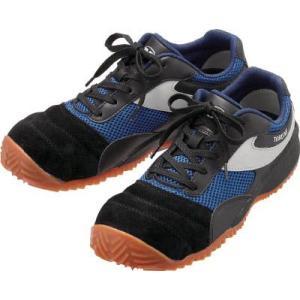 ミドリ安全 樹脂先芯入り作業靴・トビスニ23.5CM TS-110BK/BL23.5