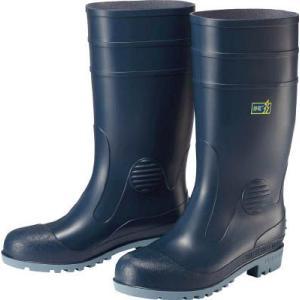 ミドリ安全 耐油・耐薬品性・静電安全長靴W1000 W1000S-BL-23.5