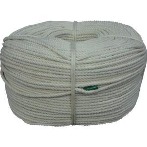 ユタカ ロープ・綿ロープ巻物・4Φ×200m C4-200|maeki