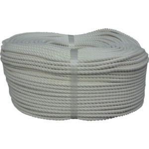 ユタカ ロープ・綿ロープ巻物・6Φ×200m C6-200|maeki