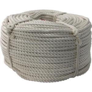 ユタカ ロープ・綿ロープ巻物・9Φ×200m C9-200|maeki