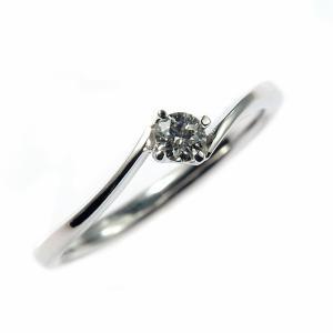 プラチナ0,1ct ダイヤリング(結婚指輪)|maestrokan