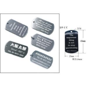 オーダーメイド彫刻、チタンIDペンダントL、鏡面仕上げ、23×43mm t1,9mm TIDLm01|maestrokan|02