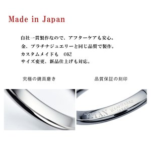 チタンリングTIRF05 ペアリング マリッジリング 結婚指輪 製造販売 コンピューター彫刻無料|maestrokan|03