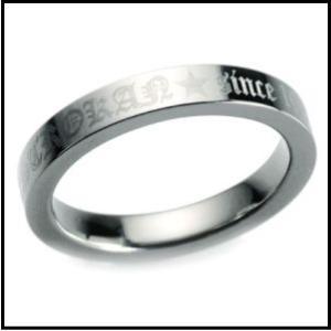 チタンリング TIRFME03 外周彫刻モデル ペア マリッジリング 結婚指輪 製造販売 彫刻無料|maestrokan|02