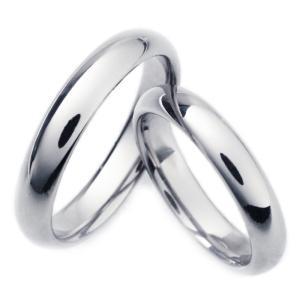 チタンリング TIRR04P 2本セット ペア、マリッジリング 結婚指輪 製造販売 彫刻無料  |maestrokan
