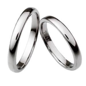 チタンリング ペアリング マリッジリング 結婚指輪 製造販売 コンピューター刻印無料 TIRR28P|maestrokan