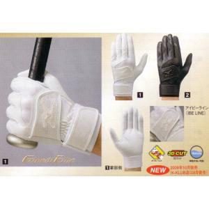 ミズノ(MIZUNO) 【バッティング手袋】 〈グローバルエリート〉 グローバルエリート(左手:右打者用)|maesupo
