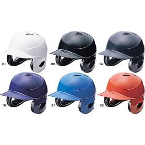 ミズノ(MIZUNO) 【防具関連】 軟式用ヘルメット(両耳付打者用)|maesupo