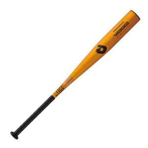 軟式バット DeMARINI(ディマリニ) VOODOO(ヴードゥ) WTDXJRRVD カラー/ゴールド 83cm/670g平均 (トップバランス) 高校軟式野球対応モデル|maesupo