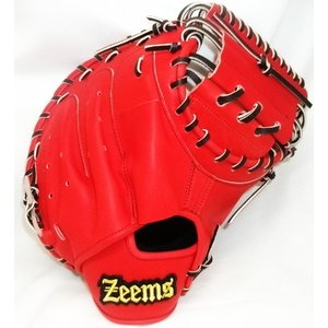 硬式キャッチャーミット ジームス(Zeems) MITT ZLシリーズ 捕手用 ZL-380CM Rオレンジ/ブラック紐 右投げ用|maesupo