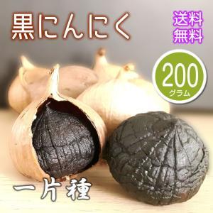 熟成 黒にんにく 200g(100gx2) 中国産 ブラックガーリック プチにんにく 厳選 中華食材|magao-jp