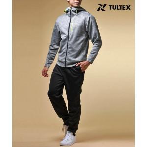 【マルカワ】【セットアップ】【TULTEX】タルテックス ジャージパーカー ドライ 上下セット ラン...