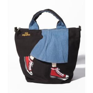 【ラプラスボックス(レディース)】mis zapatos ロングスカート3WAYショルダー|MAGASEEK PayPayモール店