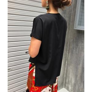 【シエルエアー】CIEL'AIR/アシンメトリーTシャツ|MAGASEEK PayPayモール店