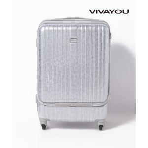 【ビバユー(バッグ&ウォレット)】【VIVAYOU ビバユー】フロントポケット付きハードキャリーL(...