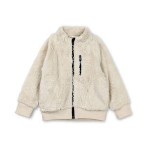 【ブランシェス】スタンドカラーボアジャケット(80〜150cm)