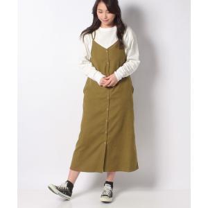 【メラン クルージュ】【Melan Cleuge women】起毛カルゼジャンパースカート|MAGASEEK PayPayモール店