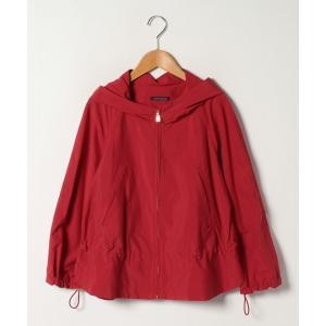 【ラピーヌ ブルー】【大きいサイズ】フーデットジャケット|MAGASEEK PayPayモール店