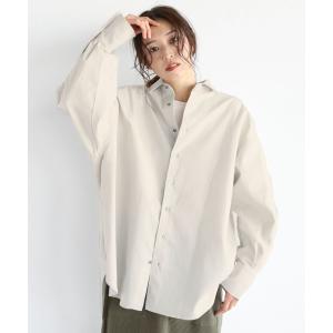 【ラシュッド】[soeur7] 【手洗い可】バックロゴ ミリタリーシャツ MAGASEEK PayPayモール店
