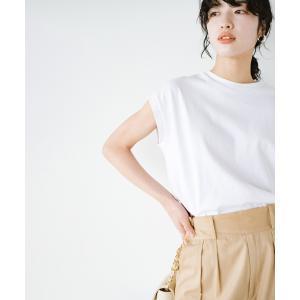 【ハコ】大人のTシャツこれならいける?!ちょい袖でかっこよく見せるTシャツ by que made me + PBP MAGASEEK PayPayモール店