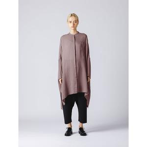 【マーコート】mizuiro ind ダブルガーゼバンドカラーワイドシャツ|MAGASEEK PayPayモール店