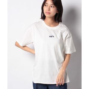【メラン クルージュ】【Melan Cleuge women】寝ころびパンダTシャツ|MAGASEEK PayPayモール店