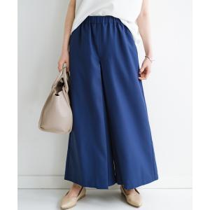 【ハコ】スカート感覚でゆったりはけちゃう お仕事にも便利なきれいめタックワイドパンツ MAGASEEK PayPayモール店