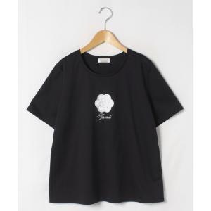 【ゲスト ジョコンダ】【大きいサイズ】【洗える】スーピマコットンポンチ プリントTシャツ|MAGASEEK PayPayモール店