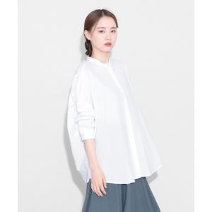 【ラシュッド】[Aga] 【手洗い可】バックギャザーシャツ|MAGASEEK PayPayモール店