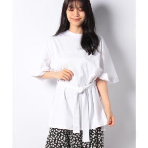 【メラン クルージュ】【Melan Cleuge women】ウエストベルトTシャツ|MAGASEEK PayPayモール店