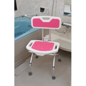 折りたたみシャワーベンチ(背付き)  バスチェア 風呂イス 風呂いす 風呂椅子 バズグッズ|magasin