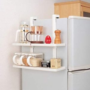 冷蔵庫サイドキッチンホルダーの写真