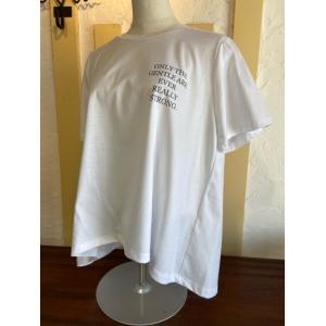 Dignite Collier ディニテコリエ  フレアプリントTシャツ  TW-802107-30ホワイト|magic-u-ladys