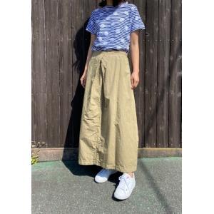 グリン/grin  綿麻ウェザーツイストスカート 8201S-001-600ベージュ|magic-u-ladys