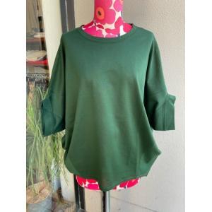 アルモニ/harmonie 鹿の子ビックTシャツ 62040645-50グリーン|magic-u-ladys