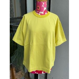 NATURAL LAUNDRY(ナチュラルランドリー) クラシックベーシックTシャツ 7203-C-001-230イエロー|magic-u-ladys