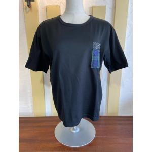 NATURAL LAUNDRY(ナチュラルランドリー) パネルポケットTシャツ 7211C-028-990|magic-u-ladys
