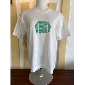 NATURAL LAUNDRY(ナチュラルランドリー) USコットンバスクシャツT 7212C-017-120ホワイト|magic-u-ladys