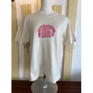 NATURAL LAUNDRY(ナチュラルランドリー) USコットンバスクシャツT 7212C-017-160ベージュ|magic-u-ladys