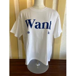 SIRO/シロ want to be プリントTシャツ  R123210-03ホワイト×ブルー|magic-u-ladys